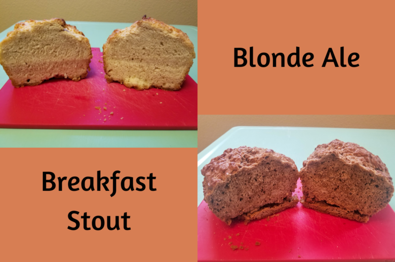 Beer Bread - Ale vs Stout